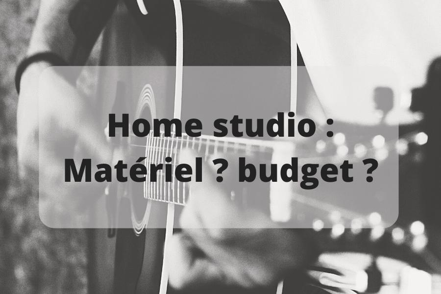 Où trouver le meilleur matériel pour home studio en termes de budget ?